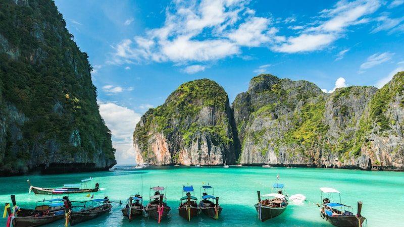 Les hôtels bord de mer en Thaïlande